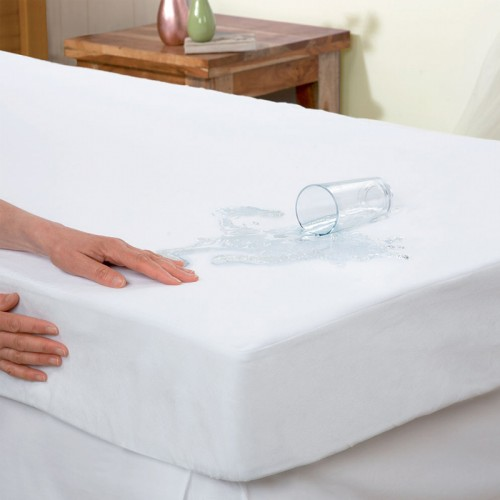 MATTRESS PROTECTOR WATERPROOF TOWEL WITH BAND