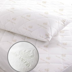 ALOE VERA PILLOW PROTECTOR QUILTED 50X70