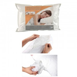 ADJUSTABLE PILLOW MICRO QUILTED WITH ZIP
