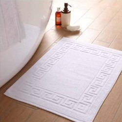 BATH MAT MEANDROS or SOLID