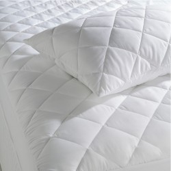 MATTRESS PROTECTOR POLYCOTTON WITH FLAP