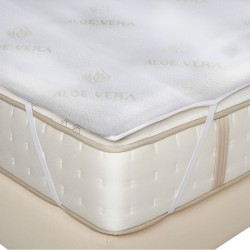 MATTRESS TOPPER ALOE VERA-FOAM 4cm
