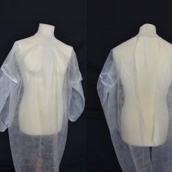Disposable Sleeved Uniform No Woven